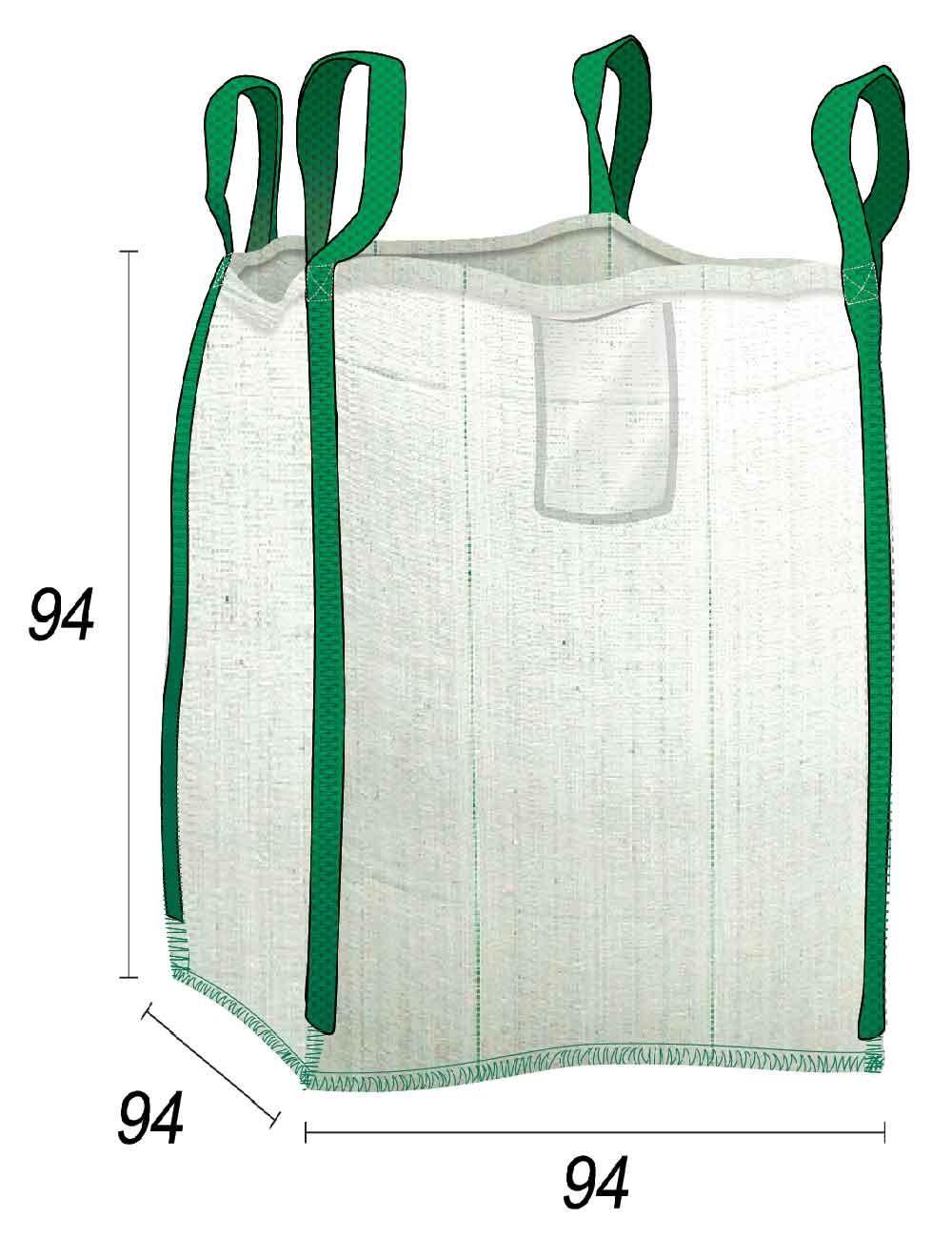 Big Bag 1 tonnellata a prezzo speciale - 90X90X90