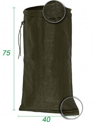 Sacchetti di polipropilene Verde 40X75