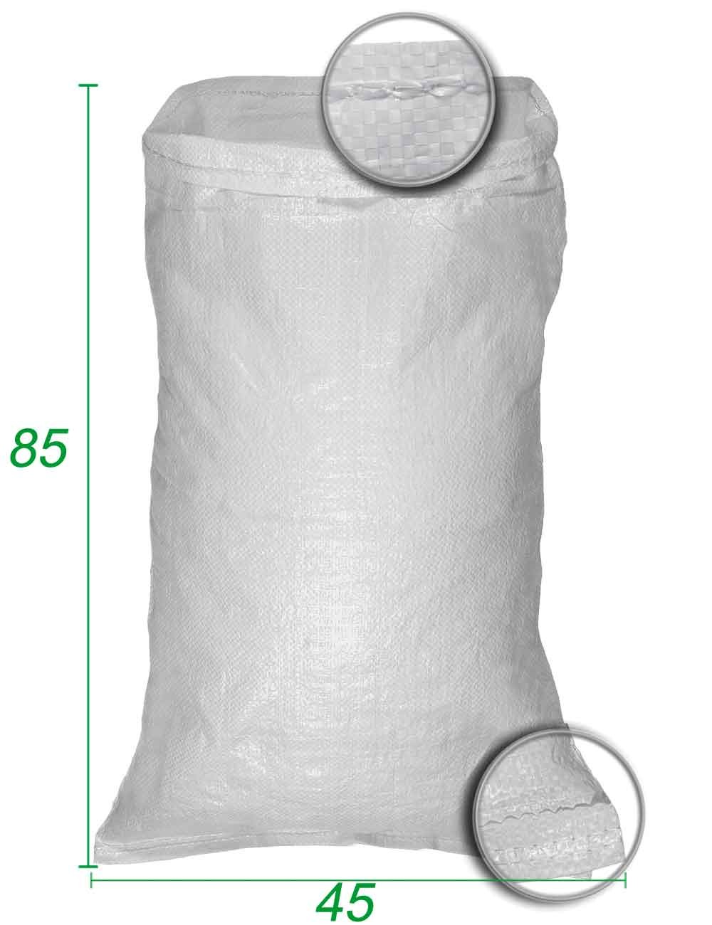 Sacco sfuso, polipropilene Bianco 45X85