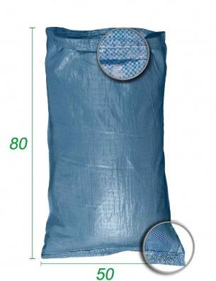 Sacco sfuso, polipropilene Blu 50X80