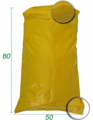 Sacco sfuso, polipropilene Giallo 50X80