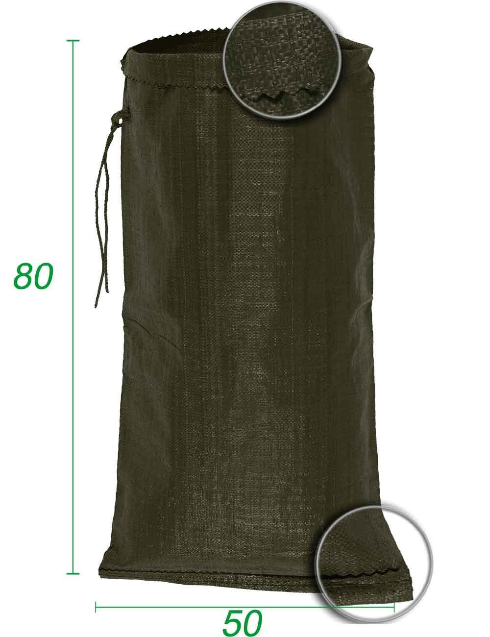 Sacco sfuso, polipropilene Verde 50X80