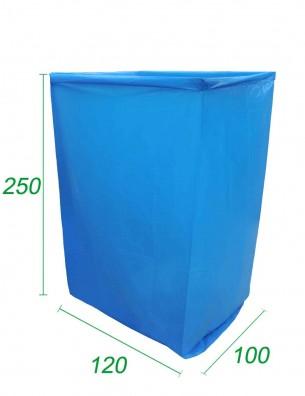 Copertura Blu in PE opaco 100X120X250 - 70 micron