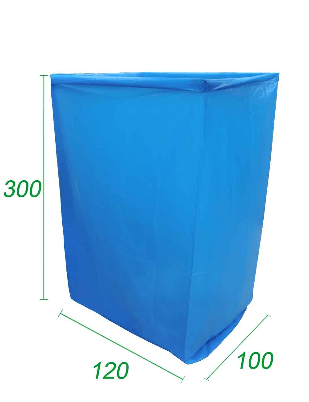Copertura riutilizzabile per Big Bag Opaco 100X120X300 70 micron