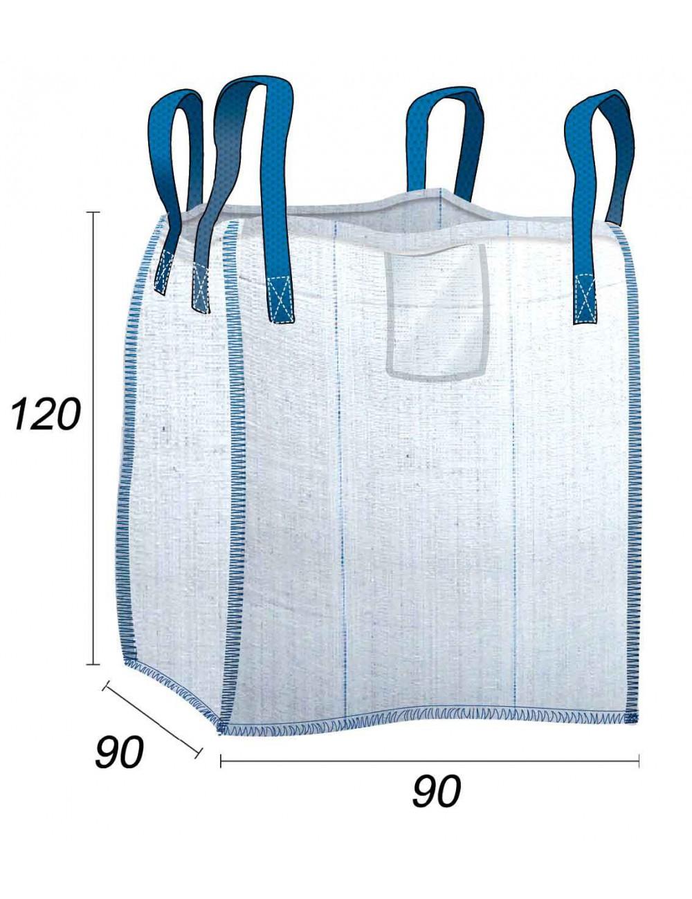 BigBag Standard per materiali e costruzioni - 90X90X120