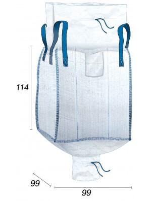 Big Bag Approvato per gli alimenti - 95X95X110