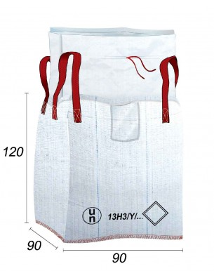 Big Bag 13H3Y - Rifiuti e prodotti classificati ADR - 90X90X120