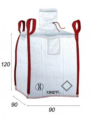 Big Bag UN - 13H2Y - Prodotti pericolosi - 90X90X120